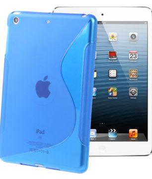 S-Line Back Cover Hoes voor iPad Mini Blauw