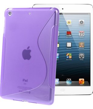 S-Line Back Cover Hoes voor iPad Mini Paars