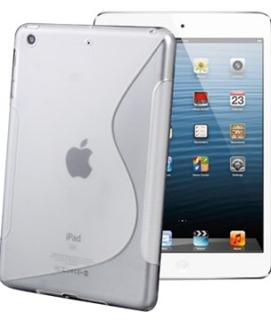 S-Line Back Cover Hoes voor iPad Mini transparent