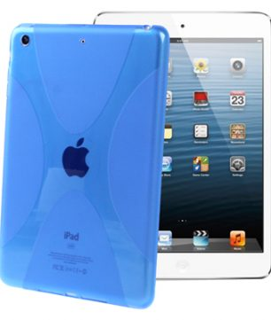 X-Line Back Cover voor iPad Mini Blauw