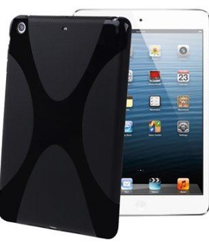 X-Line Back Cover voor iPad Mini Zwart