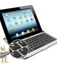 iPad 2/3 Toetsenboard Case met Bluetooth verbinding