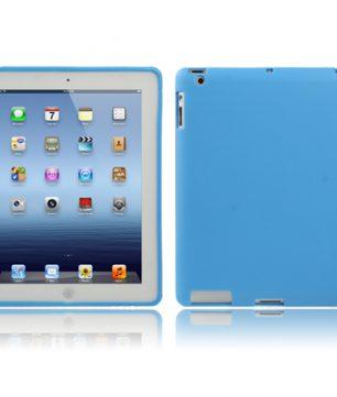 iPad 2/3/4 TPU beschermhoes Smart Cover Blauw