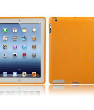 iPad 2/3/4 TPU beschermhoes Smart Cover Oranje