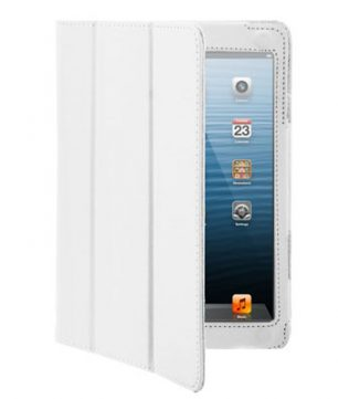 iPad Mini 3-fold Leder Hoes Wit