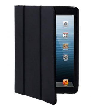 iPad Mini 3-fold Leder Hoes Zwart