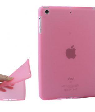 iPad Mini TPU beschermhoes Pure Color Roze