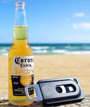 iPhone 4/4S Hardcase met Bier Opener Zwart