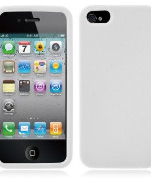 iPhone 5 Siliconen Hoes Wit