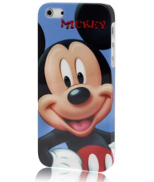iPhone 5 kunststof Back Cover Mickey Mouse