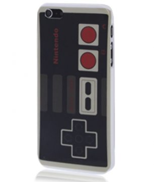 iPhone 5 kunststof Back Cover Nintendo