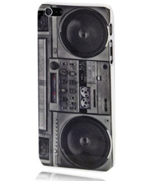 iPhone 5 kunststof Back Cover Radio