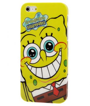 iPhone 5 kunststof Back Cover Spongebob Squarepants