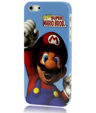 iPhone 5 kunststof Back Cover Super Mario Bros