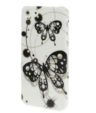 iPhone 5 kunststof Back Cover Vlinder