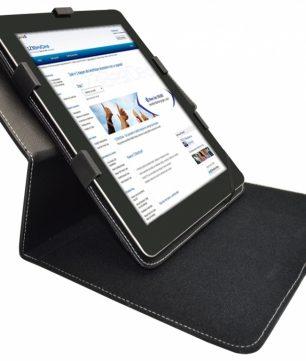 Apple iPad 1 Hoes met draaibare Multi-stand