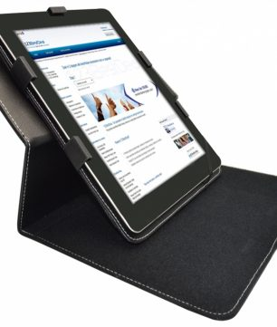 Azpen A1020 10.1 Inch Hoes met draaibare Multi-stand