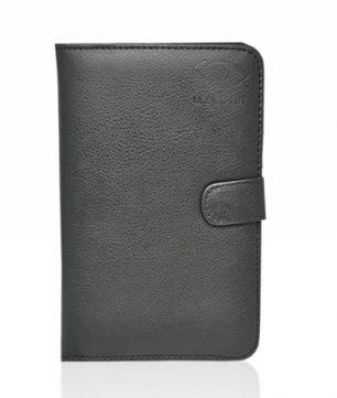 Book Cover voor uw 6 tot 7 Inch Tablet, Compacte Bescherm Hoes, Zwart