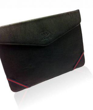 Leren Tablet Sleeve met Stand voor Lenco Tab 1012