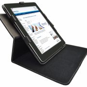 Qware Pro 3 Slim Line 9.7 Inch Hoes met draaibare Multi-stand